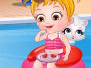 Игра Малышка Хейзел в аквапарке