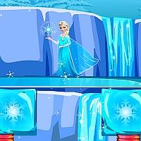 Игра Холодное СЕРДЦЕ Построй Мостик для Эльзы