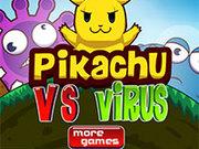 Игра Пикачу против вирусов