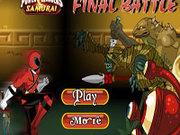 Игра Рейнджеры Самураи в финальной битве