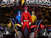 Игра Рейнджеры и гонки на мотоциклах