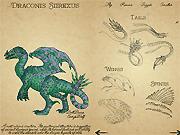 Игра Дракони Сирексус. Раскрась и одень.