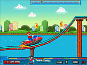 Игра Марио и супер лодки
