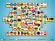 Игра Маджонг: флаги