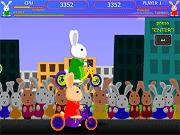 Игра Кролик Блуни 3. Гонки