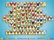 Игра Маджонг - бабочки