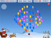 Игра Воздушный шар Santa Burster