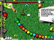 Игра Разноцветный червь-мутант