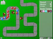 Игра Защита башни от шариков