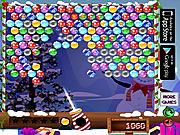 Игра Рождество - стрельба по шарикам