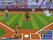Игра Бейсбол со Скуби Ду.