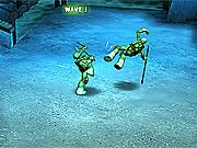 Игра Черепашки-ниндзя 3Д: Тактика