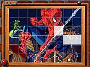 Игра Сортируйте моего человека-паука плиток