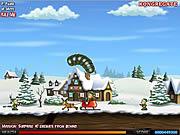 Игра Рождество червей Effing