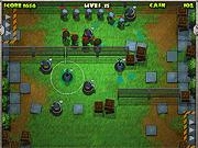 Игра Zombie Defense Agency
