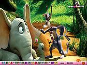 Игра Спрятанные номера - Horton слышит