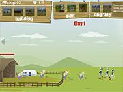 Игра Фермер против зомби