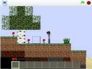 Игра Майнкрафт 2Д на бумаге