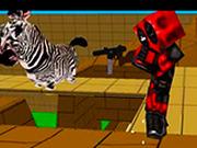 Игра Пиксельная битва мультяшек