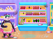 Игра Менеджер семейства панд: супермаркет