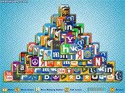Игра Логотип сайта: треугольник Маджонг