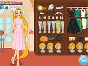Игра Принцессы Диснея на конкурсе моды