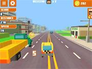Игра Пиксель-такси