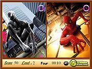 Игра Человек-паук. Найти отличия