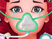 Игра Операция на горле Мори