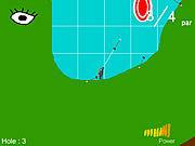 Игра Кошка с бантом гольф 2