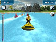 Игра Водная мания скутера
