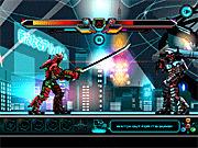 Игра Robot De Batalla Samurai De Edad