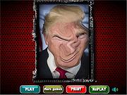 Игра Смешное лицо Трампа