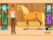 Игра Девушка с лошадью одеваются