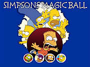 Игра Симпсоны магический шар