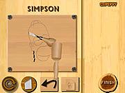Игра Резьба по дереву симпсон