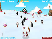 Игра Снежок санчес