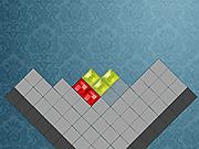 Игра Тетрис уголком (из кристаллов)