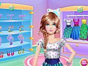 Игра Макияж для учителя  - одеваем красавицу