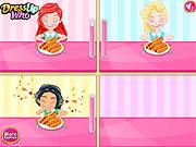Игра Конкурс принцесса хот-доги едят