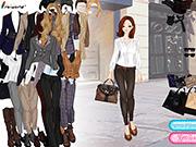 Игра Стильная одежда для работы