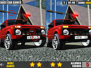 Игра Автомобиль Лада - найди различия