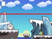 Игра Белые медведи любят рыбу