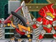 Игра Дуэль роботов 2: Ниндзя