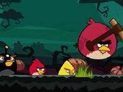 Игра Злые птички: Хеллоуин