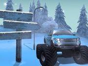Игра Ралли на зимней дороге