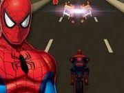 Игра Гонки на мотоцикле Человека-паука