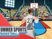 Игра Летний спорт: баскетбол