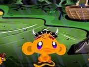 Игра Счастливая обезьяна: Самурай