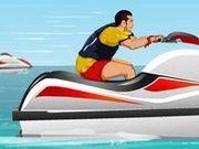 Игра Катаемся на водном мотоцикле